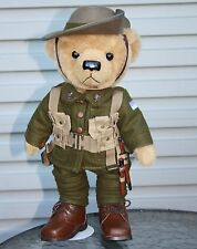 PRIVATE HARVEY THE GALLIPOLI CENTENARY BEAR - WW1 GREAT WAR AUSSIE DIGGER LTD ED
