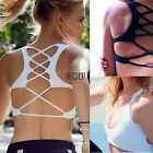 Yoga Sports Bra Women Seamless Crop Top Fitness Racerback Workout Bra S M L XL