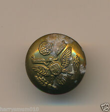 Military button unknown  U S A Victorian ? approx 16 mm  Lot 6