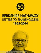 Berkshire Hathaway Letters to Shareholders 1965-2014 Warren Buffett - Hardcover