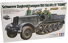 "Tamiya 35239 1/35 German 18Ton Heavy Half-Track ""Famo"" from Japan"