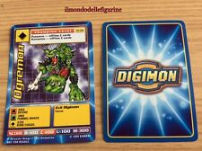 OGREMON CARD DIGIMON CP-04 BANDAI 1999