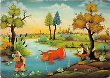 B51478 Naive art reproduction Summerday M Nad Painting