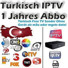 180 Türkisch Free IPTV Kanäle und 200 Türkische Filme - 1 Jahres Abo