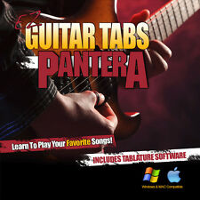 Learn To play Pantera Songs Tabs Dimebag Guitar Lesson Tablature + Tab Software