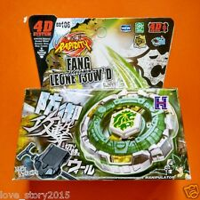 Beyblade Metal Fusion 4D set FANG LEONE 130WD BB106 kids game toys  BeyBlade
