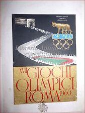OLIMPIADI XVII Giochi Olimpici di ROMA 1960 Numero Unico Ufficiale Celebrativo