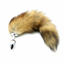 Sex Toy New Funny Love Faux Fox Tail Butt Anal Plug Sexy Romance Games Toys