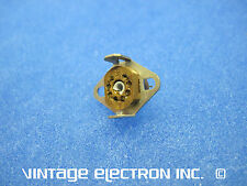 NOS 8-Pin Subminiature (Sub-miniature) Cinch Vacuum Tube Sockets - w/Shield Mnts