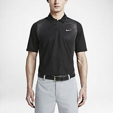 NIKE Tiger Woods Collection Mesh Framing Dri Fit Golf Polo Shirt Size M NWT $110