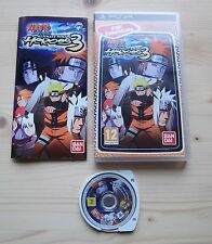 Naruto Shippuden Ultimate Ninja Heroes 3 Sony PSP Complet TBE