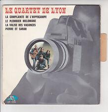 """QUARTET DE LYON Vinyl 45T 7"""" EP LA COMPLAINTE DE L'HIPPOCAMPE -AZ 1270 Languette"""