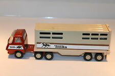 Vintage Tonka Pressed Metal Horse Trailer and Truck VGC