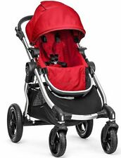 Baby Jogger City Select All Terrain Single Stroller Silver Frame Ruby NEW 2016