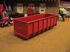 RESIN CAST 30 YARD ROLL OFF DUMPSTER CONTAINER CAN ERTL FARM TOY DIORAMA 1/64