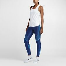 NIKE POWER SPEED Women's Running Training Tights  RRP 105£ Size XS Blue