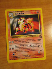 ARCANINE Pokemon PROMO Card #6 Black Star Set Wizards of the Coast League 2000
