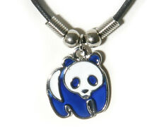 NEW Panda Mood Necklace Color Change Pendant Necklace Liquid Crystal Thermo