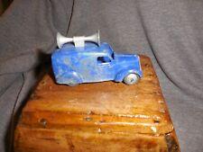 Vintage Dinky 492 Speaker Van Hollow Diecast Shows Wear