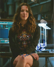 Rebecca Hall Signed Iron Man 3 10x8 Photo AFTAL