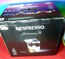 NESPRESSO LATTISSIMA PRO COFFEE MACHINE SILVER 220-240V & 16 CAPSULES,NEW