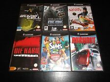 lot de 6 jeux nintendo game cube complets et sans notices