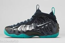 NIKE AIR FOAMPOSITE PRO DARK OBSIDIAN LIGHT AQUA 624041-402 SIZE 15