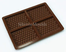 4 Cella BUBBLE Barretta di cioccolato Chocolatier professionale in silicone Artisan STAMPO PAN