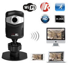Mini Wireless Wifi IP 720P HD Camera Spy Hidden IR Security Network Web Cam DVR