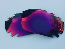 REPLACEMENT ENGRAVED POLARIZED POSITIVE RED MIRROR OAKLEY JAWBONE LENSES