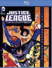 Justice League Unlimited: The Complete Series [Blu-ray],New DVD, ,