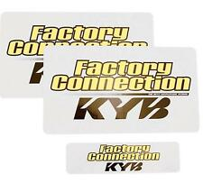 Factory Connection Fork/Shock Decal Set  KAYABA FCKYBDCLSET*