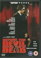 BEFORE THE DEVIL KNOWS YOU'RE DEAD DVD - ETHAN HAWKE & ALBERT FINNEY