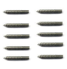 "WOOD 1"" SCREWS SADDLE FURNITURE ADAPTER SCREWS FOR CONCHO LOT (10/pack) NEW"
