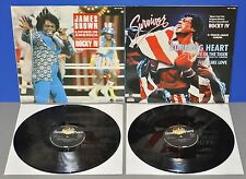 ROCKY IV 2x Maxi Living in America James Brown Burning Heart/Eye of the Tiger