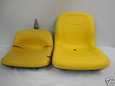 HIGH BACK YELLOW SEAT,JOHN DEERE GT242,GT262,LX188,LX186,LX178,LAWN MOWER JD #NA