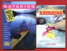 2 Kayaking books: Whitewater and Sea Kayaking + Kayaking Made Easy -Free Ship!