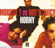 MOUSSE T vs HOT 'N' JUICY - Horny (UK 6 Track CD Single)