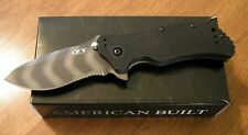 ZERO TOLERANCE New 0350TSST G-10 Tactical Folder Tiger Stripe Blade Knife/Knives