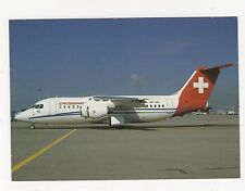 Crossair BAe 146-200 Aviation Postcard, B008