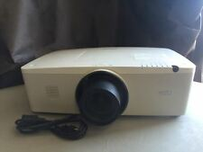 SANYO PLC-WM4500L WXGA PROJECTOR, CLEAR IMAGE!! WORKS GREAT! 4500 LUMENS!