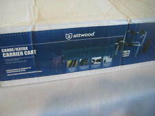 """ATTWOOD Kayak Canoe Dolly Carrier Cart 10"""" Tires Lightweight FREE SHIPPING"""