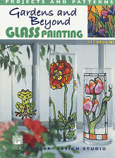 Gardens and Beyond Glass Painting softcover book by Kooler Design Studio