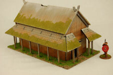 Dark age viking bois lattes long house 2 mdf 28mm scale building J019