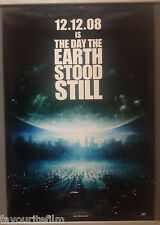 Cinema Poster: DAY THE EARTH STOOD STILL 2008 (Central Park One Sheet)