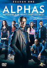 Alphas - Series 1 - Complete (DVD, 2012, 3-Disc Set) region 2 ,new and sealed