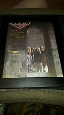Giant Last Of The Runaways Stay Rare Original Radio Promo Poster Ad Framed!