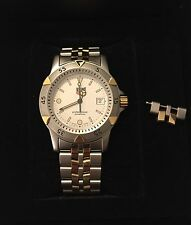 Beautiful, Men 2-Tone Tag Heuer Watch Sapphire Crystal