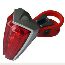 New Cycling Bicycle Bike Mountain 5 LED Ultra-bright Rear Tail Safety Light