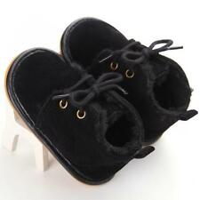 Toddler Infant Baby Boy Winter Warm Snow Boots Crib Shoes Size 0-18 Months BK11